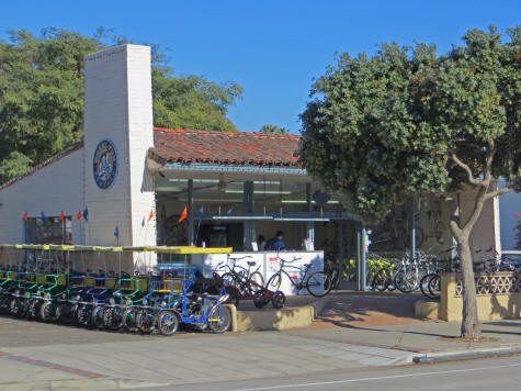 Bike Rental Shop in Santa Barbara California