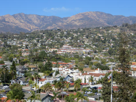 Maps of Santa Barbara and Region