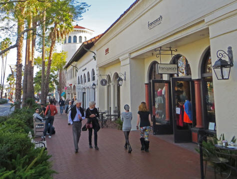 Shopping in Santa Barbara